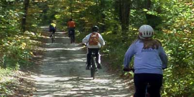 riders on trail