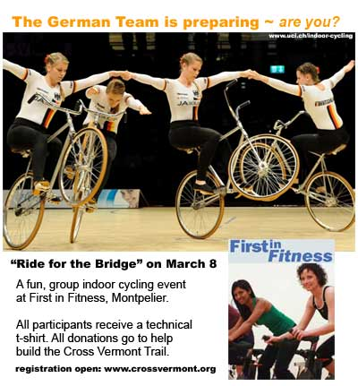 Ride For Bridge event poster
