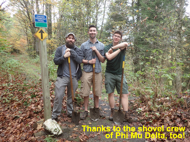 men with shovels