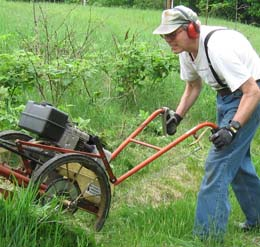 large push mower